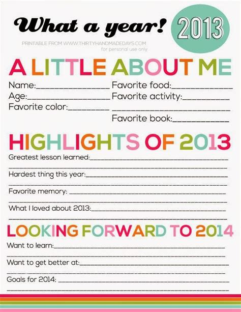 new year activities printable new years and ideas