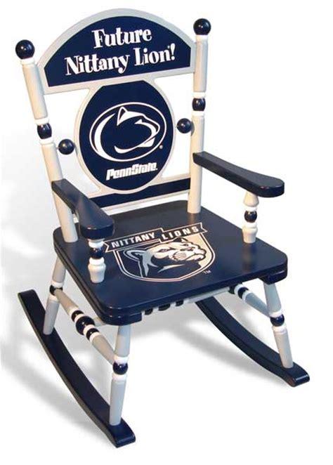 penn state desk l penn state team rocking chair