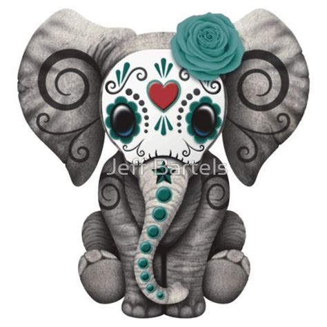 elephant skull tattoo 17 best ideas about sugar skull sleeve on