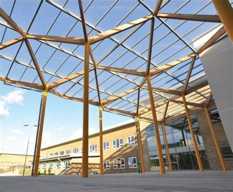 awning structure bspk fra patent glazed canopy structure phase 3 timber