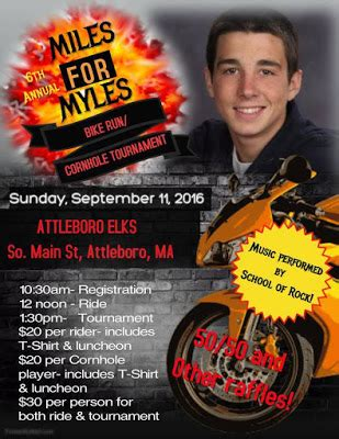 miles for myles boston cornhole