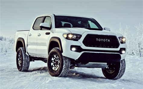 Toyota Tacoma Wallpaper Toyota Tacoma Trd Pro Cab 2017 Wallpapers And Hd