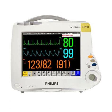 Monitor Ekg philips intellivue mp30 patient monitor w