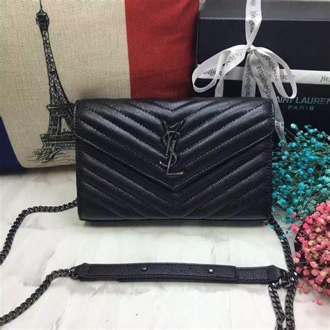 Ysl Clasic Caviar Bag ysl envelope bag caviar leather black gunmetal chain 23cm ysl2017 1743 209 00 designer