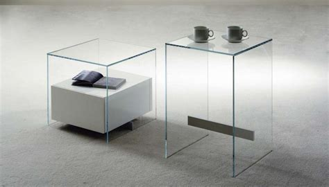 comodini in vetro comodini moderni in vetro foto 13 40 design mag