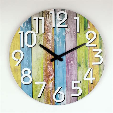 decorating inexpensive decorative wall clocks for modern home decoration watch wall warranty 3 years silent