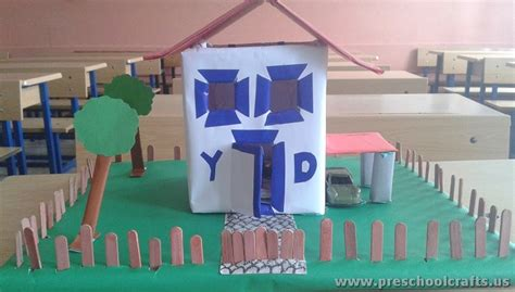 home project ideas my home project ideas for kids preschool crafts