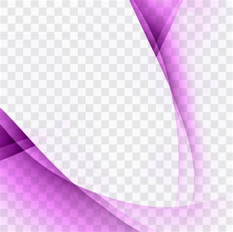 business card template wavy purple wavy background template vector free