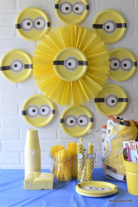 Birthday Decorations by Best 25 Minion Ideas On Minion