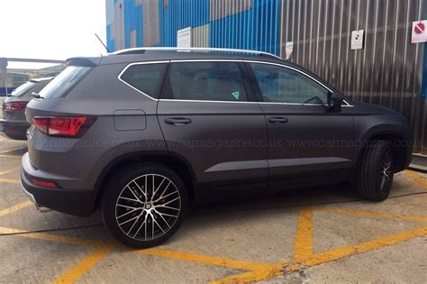 seat ateca black you ain t seen me right 2017 seat ateca cupra prototype