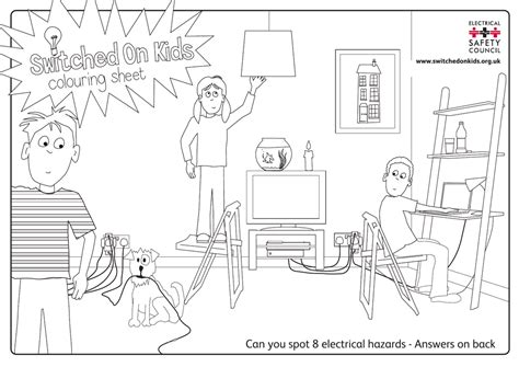 can you spot 8 electrical hazards answers on