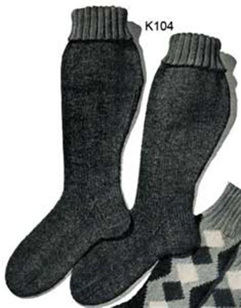 knitting pattern hunting socks men s hunting socks no k104 knitting patterns