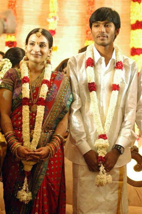 Dhanush Tamil Actor Marriage Photos Wife Name Pictures