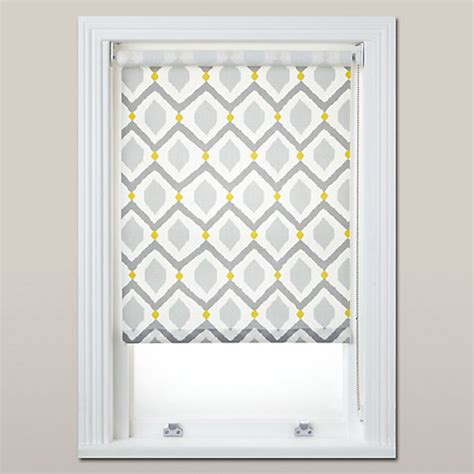 john lewis bathroom blinds john lewis indah daylight roller blind grey saffron