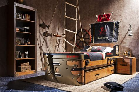 kids pirate bedroom furniture pirate ship bedroom beach style kids miami by