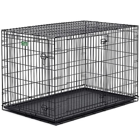 42 inch crate buy icrate door folding 42 inch crate with divider from bed bath beyond