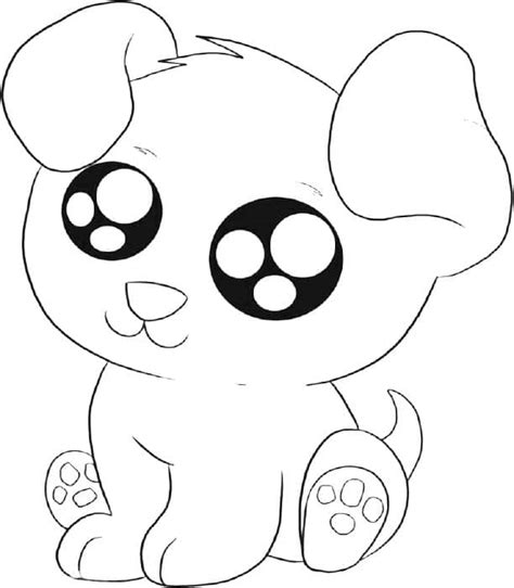 puppy coloring pages 01 dog breeds picture