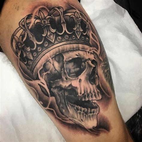 black galleon tattoo studio in king s lynn the tattoo finished up this skull king today on colin thanks man