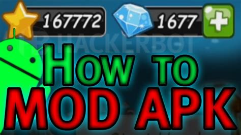 mod game android tutorial how to make your own apk mods for android games modded