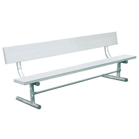 park benches metal aluminum park bench with back benches
