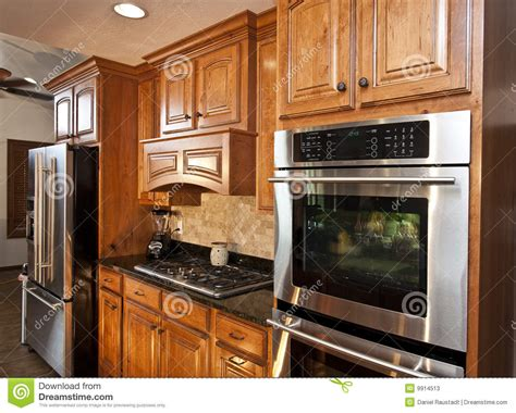 new kitchen appliances new modern kitchen appliances stock image image 9914513