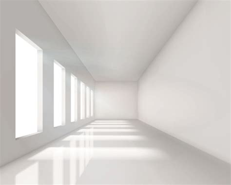 empty white room spacious empty white room design vector 01 vector other free