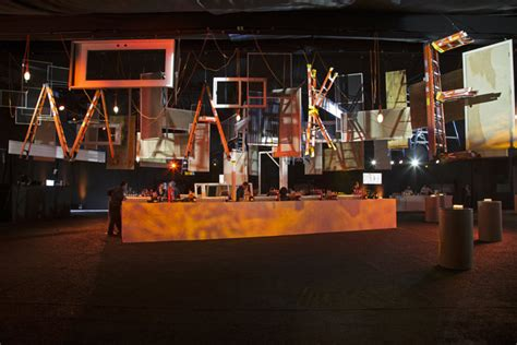 event design jobs nyc why brad pitt s new orleans gala had a construction theme