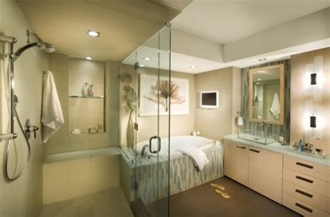 High End Bathroom Suites Indulge In High End Bathroom Design With Dkor Interiors Interior Design Design News And