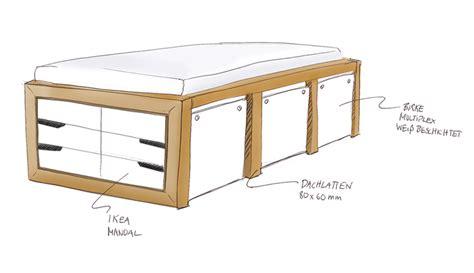 Ikea Bett Kommode ikea hack mandal kommoden bett ikea hacks pimps