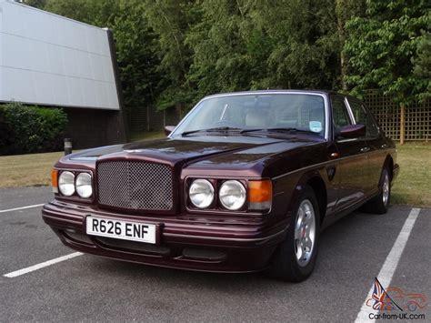 bentley turbo rt stunning 1998 bentley turbo rt mulliner wildberry mint