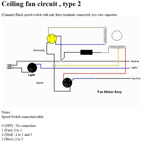 Ceiling Fan Only Works On High Speed by Electrical How Does A Multi Tap Motor Speed Work