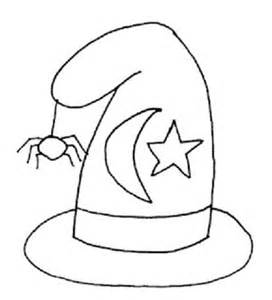 Halloween Witch Hat Coloring Pages Coloring Witch Hat Coloring Page