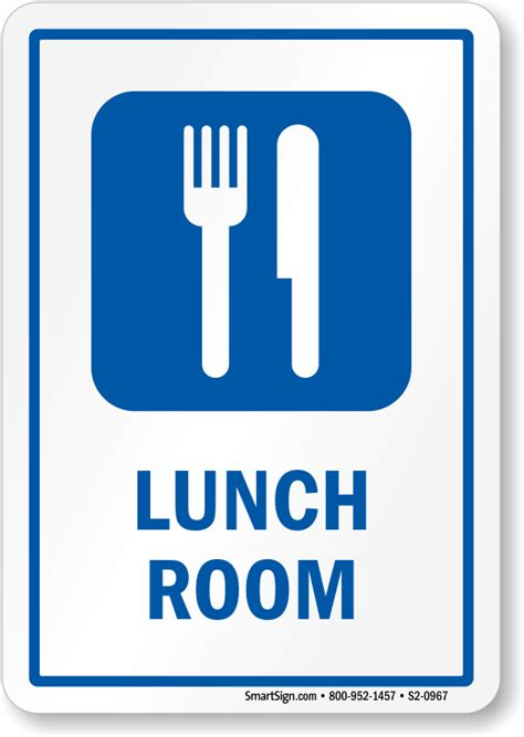 signs for rooms lunch room signs room signs