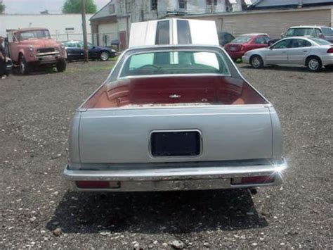 chevrolet caballero purchase used 1981 chevy chevrolet caballero 350 engine