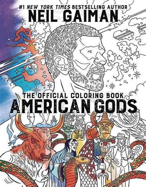 The Neil Gaiman Coloring Book jan178881 neil gaiman american gods coloring book