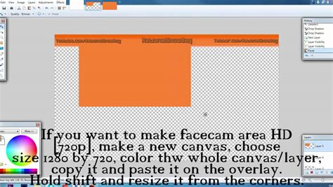 pattern overlay paint net tutorial how to make an overlay using paint net youtube