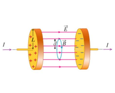 a parallel plate capacitor with circular plates of radius 1 m has a a capacitor consists of two parallel circular plat chegg