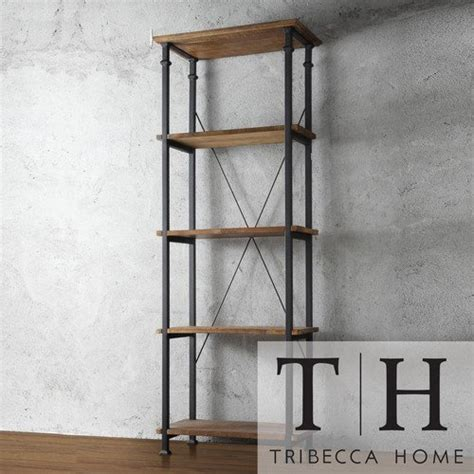 tribecca home myra vintage industrial modern rustic