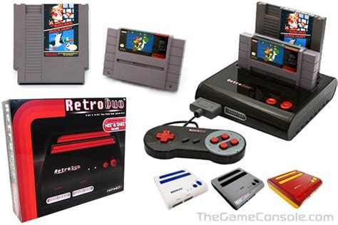 retro console thegameconsole retro bit retro duo console