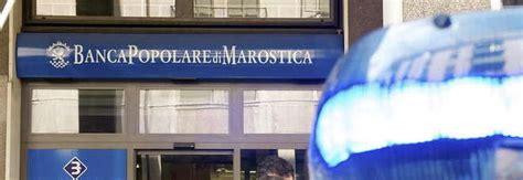 qui banca popolare di marostica banca accusata di falso in bilancio sequestro preventivo