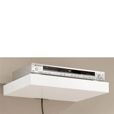 floating media shelf media floating shelf 450x300x50mm