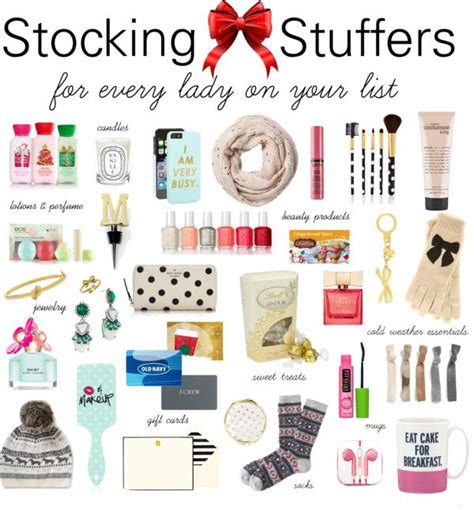 stocking stuffer ideas for her best 25 christmas stocking stuffers ideas on pinterest