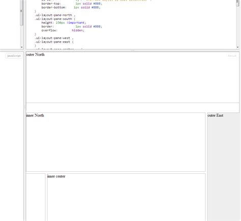jquery layout north height javascript setting height of a div in jquery ui layout