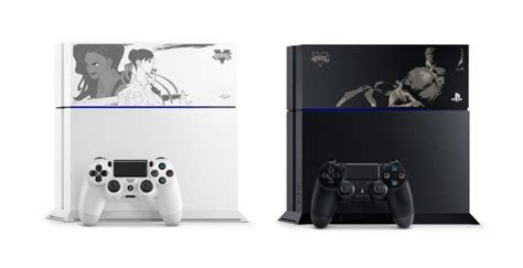 Bd Ps4 Fighter5 Spesial Shoryuken Edition limited edition ps4 consoles feature fighter 5 covers one angry gamer