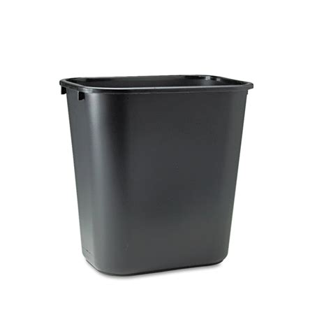 commercial trash cans shop rubbermaid commercial products 7 gallon black plastic touchless trash can at lowes