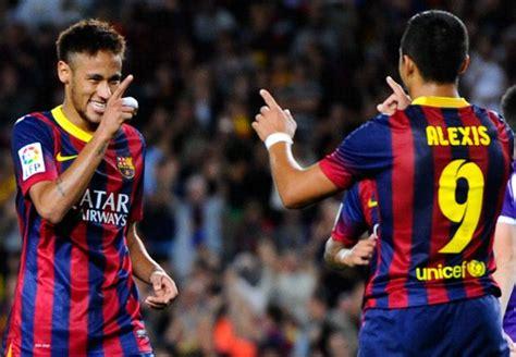 alexis sanchez y neymar puro futbol