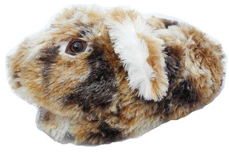 rabbit slippers for adults boys novelty fur bunny lop ear rabbit animal