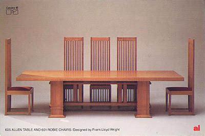 frank lloyd wright furniture plans plans diy