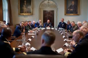What Is The Cabinet File Barack Obama Meets Combatant Commanders In The