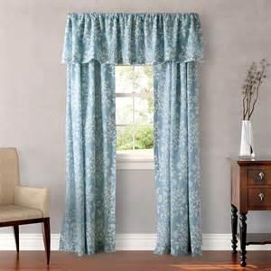 Blue Window Treatments Rowland Blue Window Treatment From